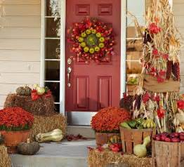 southern living fall decorating ideas outdoor displays southern living porch fall