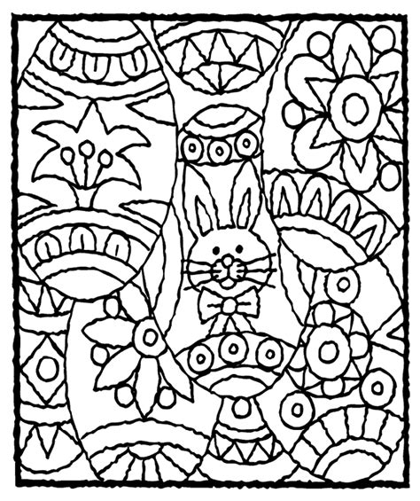 easter eggs coloring page crayola com
