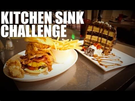 Kitchen Sink Challenge The Kitchen Sink Challenge Universal S Rock Hotel