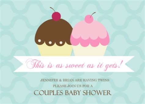 twins baby shower invitation wording ideas from purpletrail