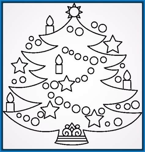dibujos para imprimir arboles de navidad archivos