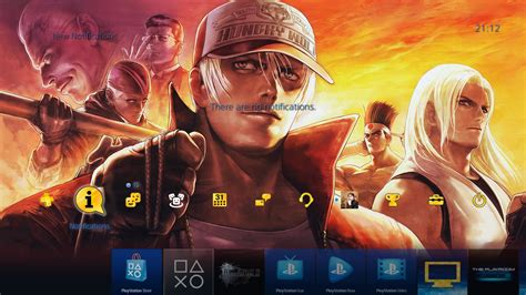 themes ps4 europe free the king of fighters xiv ps4 themes released on the