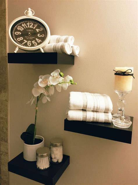Bathroom Decor Above Toilet 25 Best Ideas About Floating Shelves Bathroom On