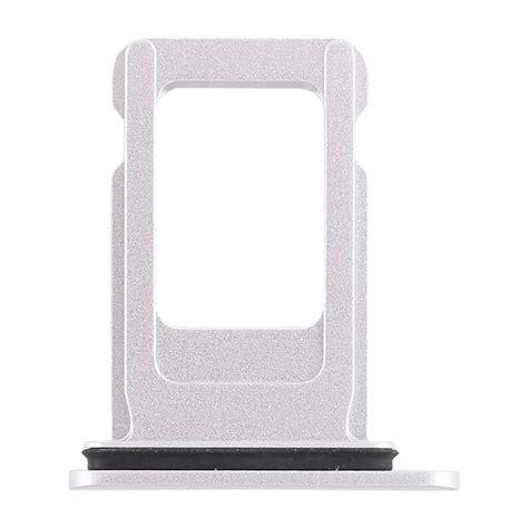 sim card tray for iphone xr single sim card white alexnld