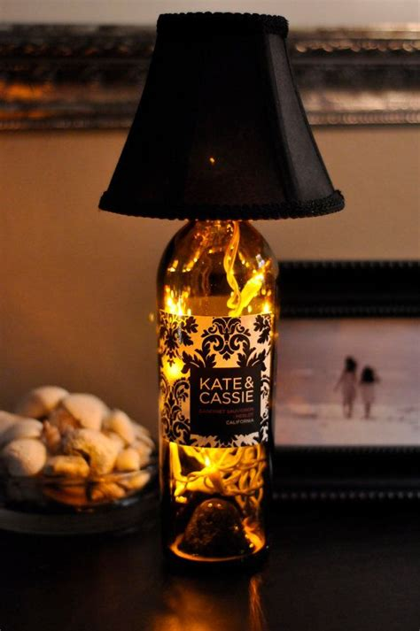 Live Love Laugh Home Decor find inspirations for your next bottle lamp project how