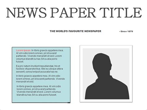 Free Newspaper Template 20 Free Word Pdf Psd Editable Newspaper Template