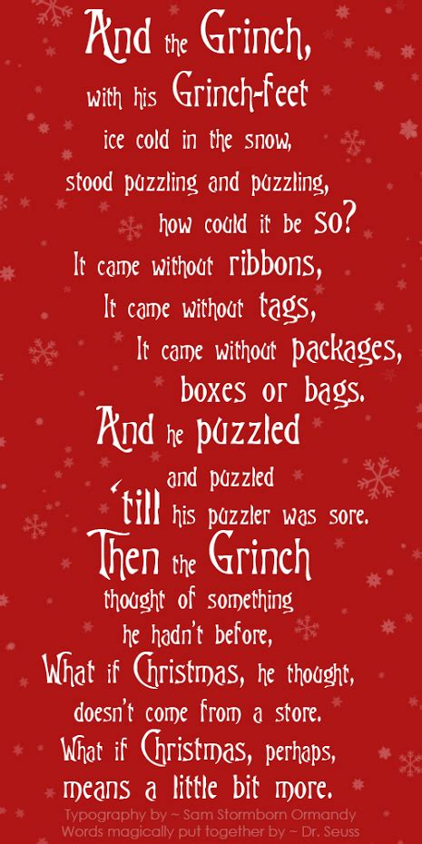 grinch  stole christmas christmas thegrinch quotes