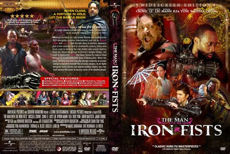 the with the iron fists dvd custom covers the with the iron fists custom