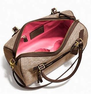Signature Oxford Zip Satchel by Mylilcoachstore Coach Poppy East West Satchel In Mini