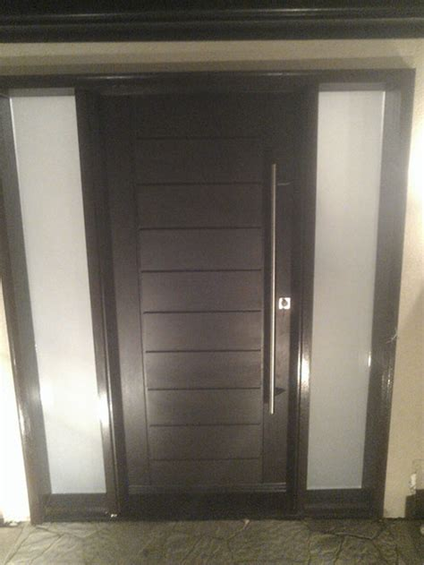 exterior modern doors modern contemporary front exterior fiberglass doors after