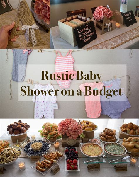 Who Can Throw A Baby Shower by How To Throw A Rustic Themed Baby Shower Brunch On A