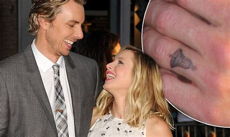 dax shepard tattoos dax shepard debuts kristen bell at this is where i