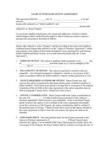 Rent To Buy Agreement Template rent to own agreement template best template idea