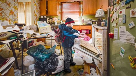 hoarder house nebraska siblings relive childhood in hoarding house abc news