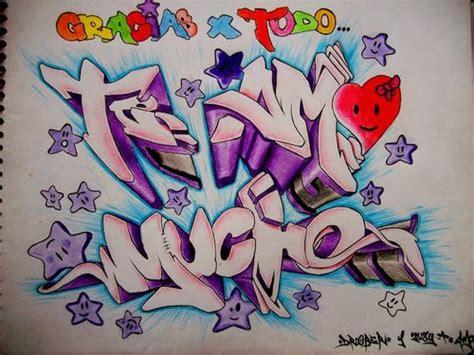 graffitis que digan andrea te amo imagui dibujos de graffitis de feliz cumplea 241 os imagui