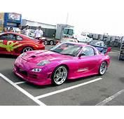 MotorVista Car Pictures  Pink Mazda Pic