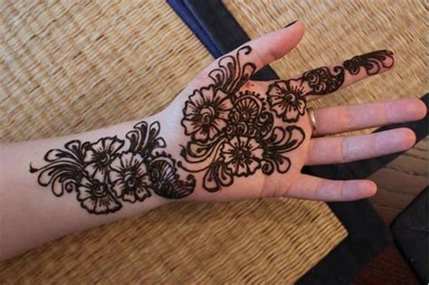 arabic henna design easy henna designs easy to do images