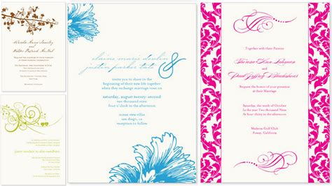 invitation cards free templates marriage invitation card marriage invitation card