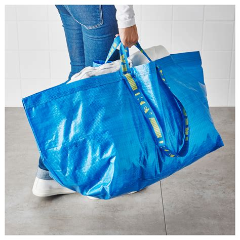 ikea bags frakta carrier bag large blue 71 l ikea