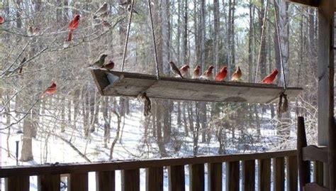 Bird Feeder Trough Weatherproof Bird Feeders With A Flea Market Twist Flea