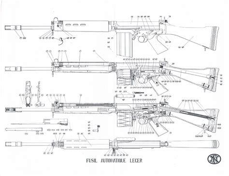 3d gun image 3d floor plans fn fal blueprint download free blueprint for 3d modeling