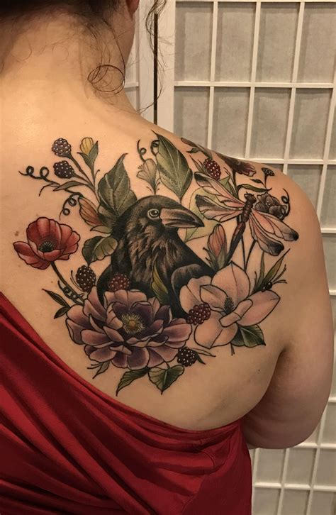 ivy tattoos floral done by lavelle studio 85