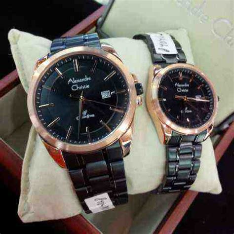 Alexandre Christie Wanita Ac 8544 Gold Black Original Best Seller jual alexandre christie ac 8404 black gold baru