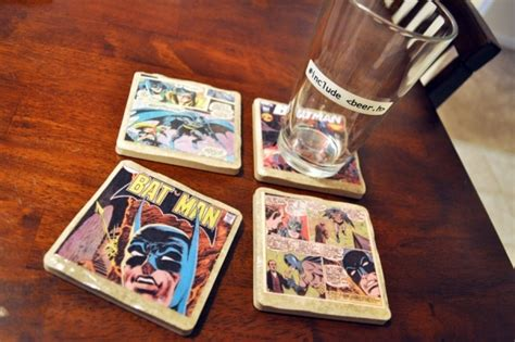 Best Home Decor Youtube Channels by Diy Comic Book Coasters 7 Creative Diy Gifts For Your