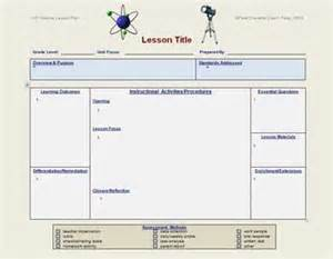 Lesson Plan Template Science by Lesson Plan Template Science