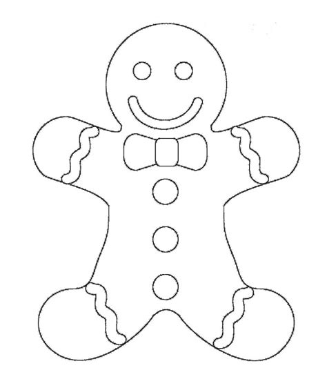 Printable Gingerbread Man Coloring Pages Coloring Me Gingerbread Coloring Page