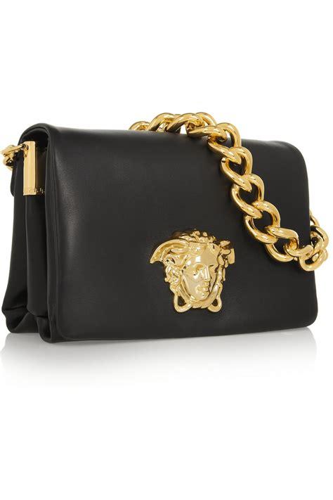 Designer Handbag Sale Net A Porter by Versace Leather Shoulder Bag Net A Porter Bag