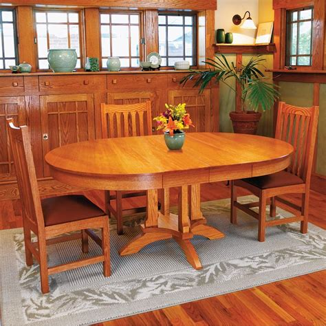 woodworking plans dining table dining table woodworking plan from wood magazine