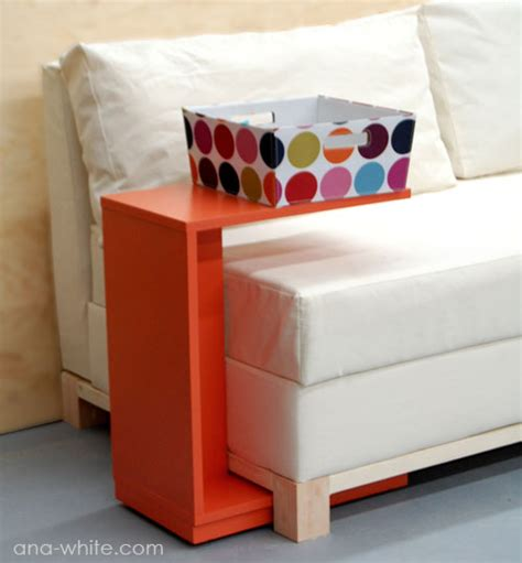Ana White Rolling C End Table Or Sofa Table Diy Projects Rolling Sofa Table