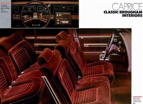 chevrolet caprice brougham interior  gm cars chevrolet caprice cars gm car