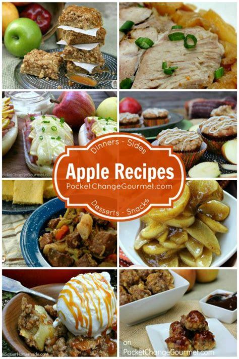 favorite apple recipes for fall pocket change gourmet