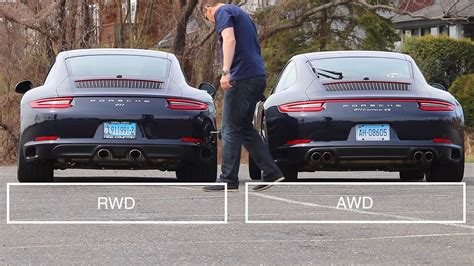 Are Rear Wheel Drive Cars In The Snow by How Different Are Rwd 911s From Awd 911s The Drive