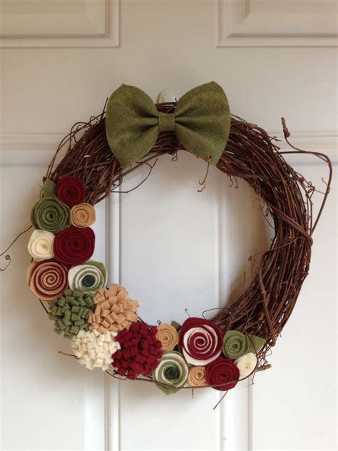 Handmade Wreaths - 28 fascinating handmade wreath designs style