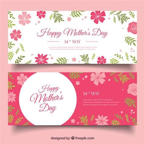 feliz dia de las madres card template flores cor de rosa vetores e fotos baixar gratis