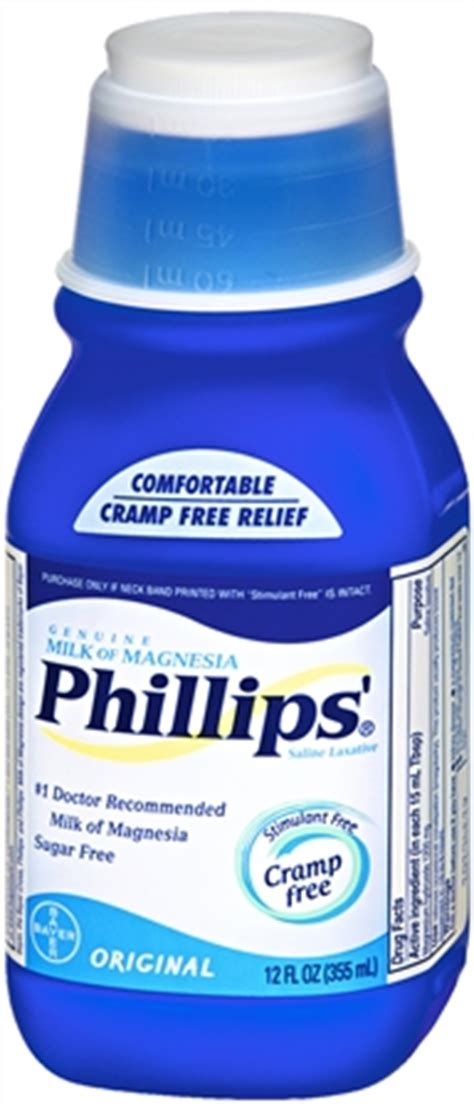 Phillips Stool Softener Reviews by Phillips Milk Of Magnesia Original Pharmapacks