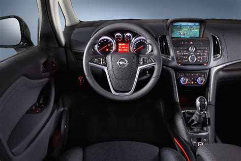 opel zafira interior opel launches 2015 zarifa tourer with new engine