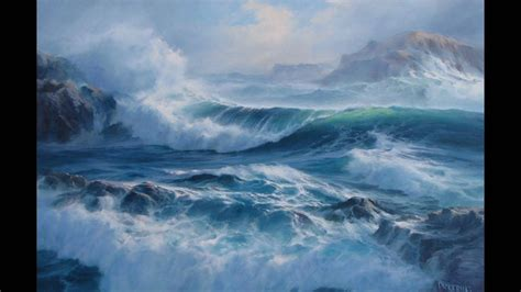 bob ross painting the sea come walk with me a gallery of the sea