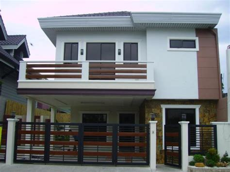 2 storey house 2 storey modern small houses with gate of philippines