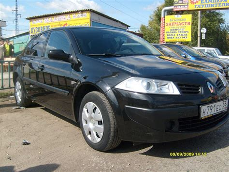 renault megane 2007 2007 renault megane pictures 1600cc for sale