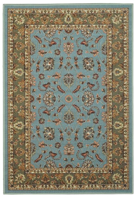 non staining vinyl backed rugs rubber back 20 quot x 5 2ft by 5ft blue floral traditional non skid runner rug ebay