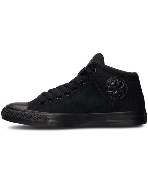 Concverse Chuck Tylor Ox High Peached For lyst converse s chuck high ox casual sneakers from finish line in black for