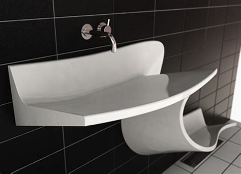 unusual bathroom basins wash basin in black corian