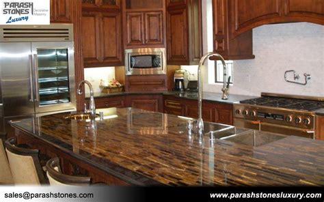 Table Islands Kitchen Semi Precious Stone Slab Furniture Wholesale Price