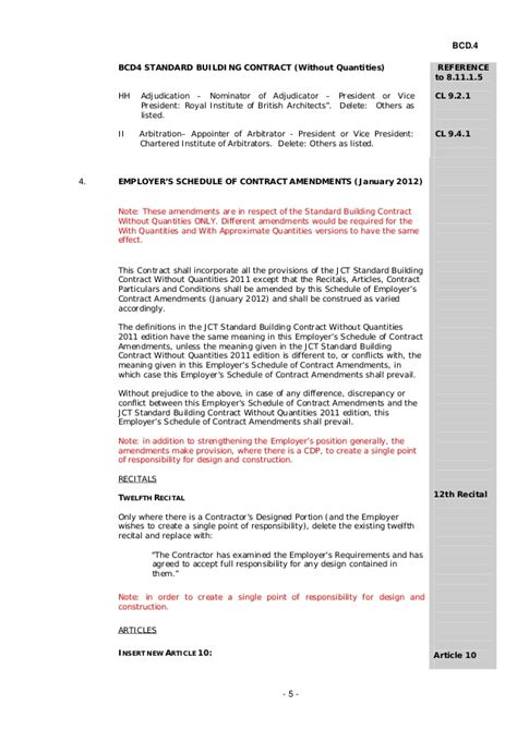 jct design and build contract clause 6 5 1 jct design and build contract clause 6 5 1 bcd4 standard