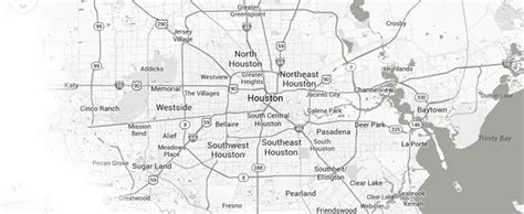 houston map black and white houston residential door repair replacement sliding