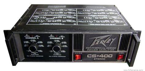 Power Lifier Peavey Cs 800 peavey cs 400 manual professional stereo power